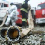 Пожар на нефтеперерабатывающем заводе под Ярославлем потушили
