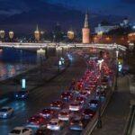 Во вторник вечером пробки в Москве могут достигнуть восьми баллов