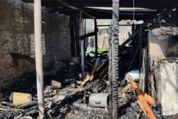 В Нижегородской области бабушка и внук погибли при пожаре в частном доме