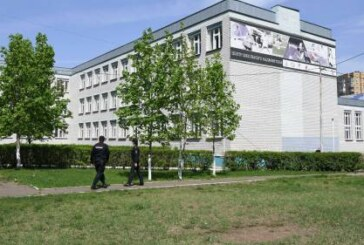 Ученики казанской гимназии вернулись к учебе в соседней школе